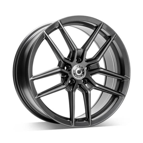 Wrath WF14 Graphite Grey 1 alloy wheel